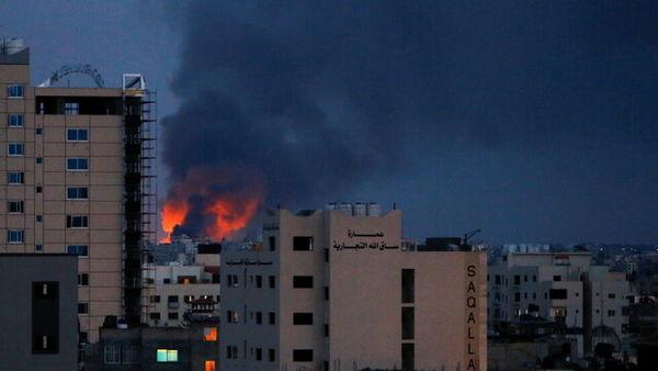 جنگندههای رژیم صهیونیستی شهر غزه را بمباران کردند