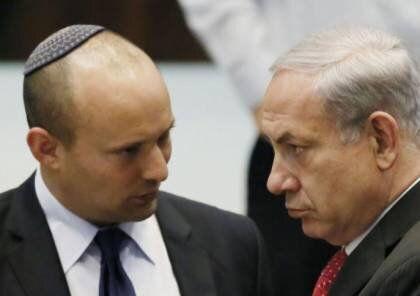 """نتانیاهو: دولت چپگرا خطری برای امنیت اسرائیل است/ بنت """"کلاهبردار قرن"""" است"""