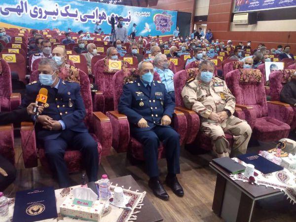 آیین معارفه فرمانده جدید نیروی هوایی ارتش برگزار شد