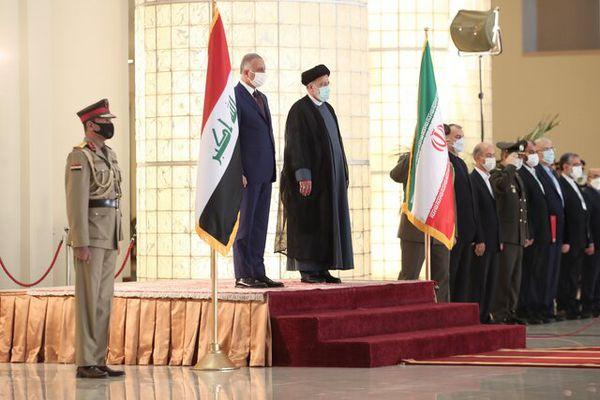 رئیس الجمهوریة یستقبل رئیس وزراء العراق