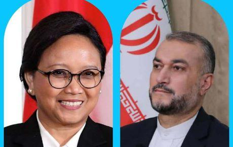 وزیران خارجه ایران و اندونزی خواستار توجه به پناهندگان افغان شدند